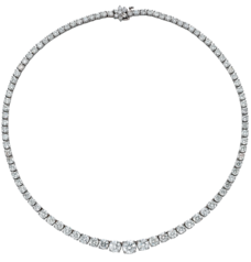 Riviera Necklace, Platinum, 11.71ct £21000