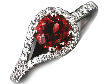 1.20ct Ruby Platinum ring PRICE £3200 RRP £4800